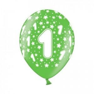 belbal-1-jaar-ballon-groen